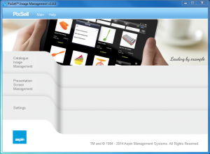 Presentation Image Manager v3.8 - Main Screen