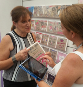 Judy Brown, National Sales Manager for The Aird Group, using PixSell.