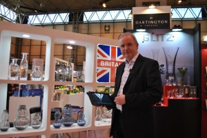 We loved the new 'Made in Britain' range by Dartington where John was very happy with PixSell.