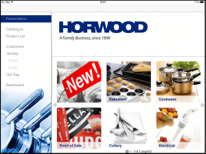 Horwood's PixSell homepage in landscape.